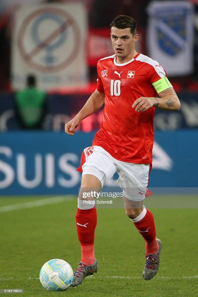 Switzerland v Bosnia - International Friendly : News Photo