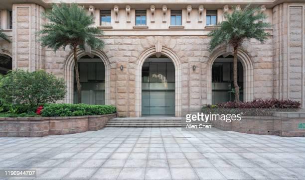 granite appearance building - モダンロック ストックフォトと画像