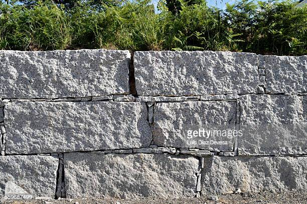Granite fence