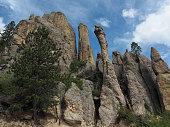 Granite Pinnacles, Custer State Park, South Dakota