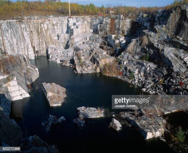 Granite Quarry in Barre, Vermont