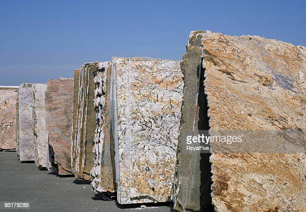 Granite Slabs Row