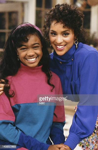 AIR 'Granny Gets Busy' Episode 5 Pictured Tatyana Ali as Ashley Banks Karyn Parsons as Hilary Banks Photo by Joseph Del Valle/NBCU Photo Bank