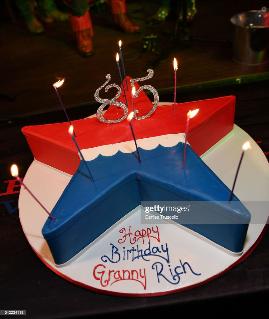 Astounding Granny Richs 85Th Birthday Cake At The Redneck Riveria Vip Grand Funny Birthday Cards Online Inifofree Goldxyz