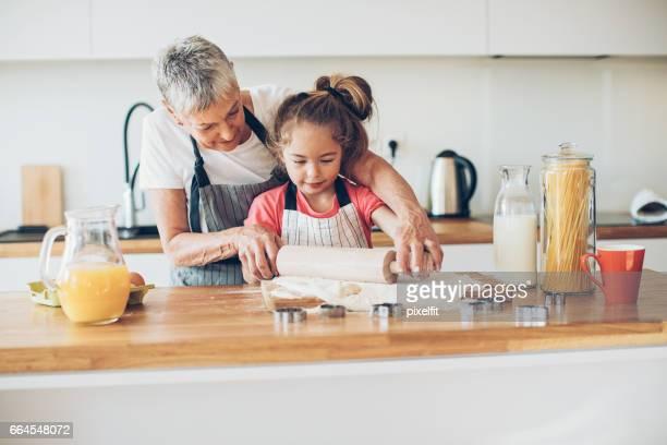 Oma wird mir Cookies zu lehren!