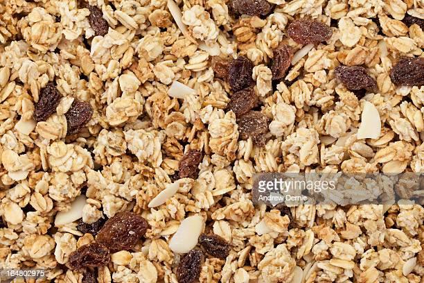 granola background - andrew dernie imagens e fotografias de stock