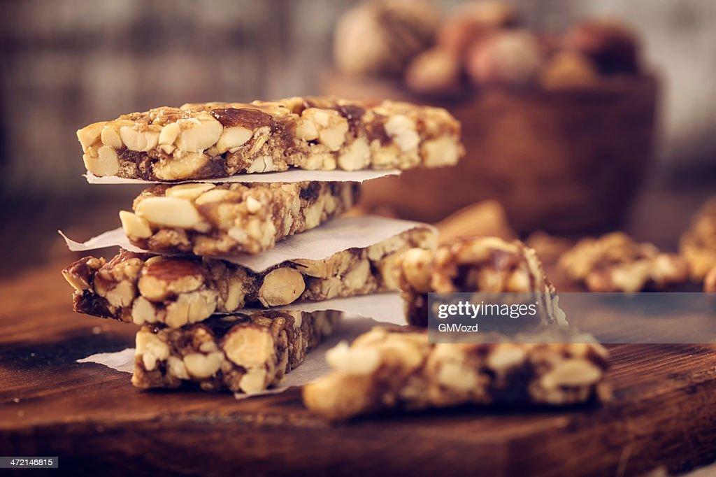 Granola Bars : Stock Photo