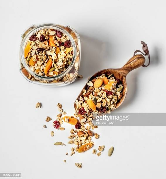 granola - granola stock pictures, royalty-free photos & images