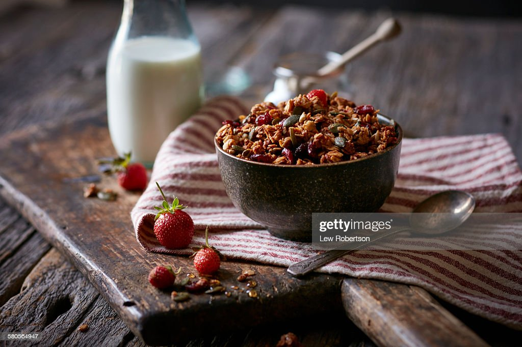 Granola : Stock Photo