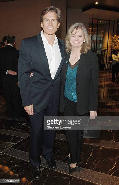 Grant Aleksander and wife Sherry Ramsey during 5th Annual Tribeca Film Festival The Big Bad Swim Reception at Mo Bar at The Mandarin Oriental in New...