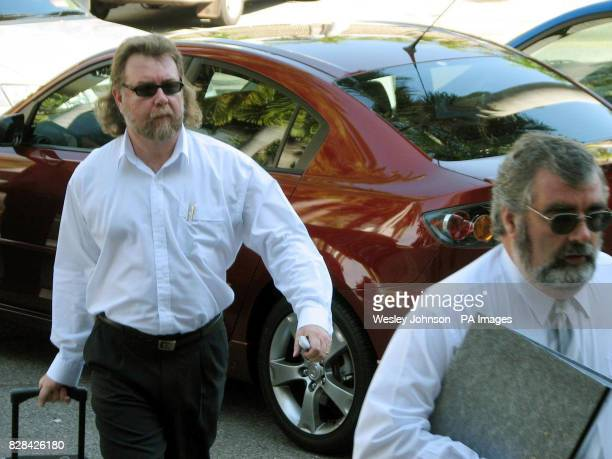 Grant Algie and Mark Twiggs Bradley Murdoch's defence team arrive at the Northern Territory Supreme Court in Darwin in Australia Tuesday November 2...