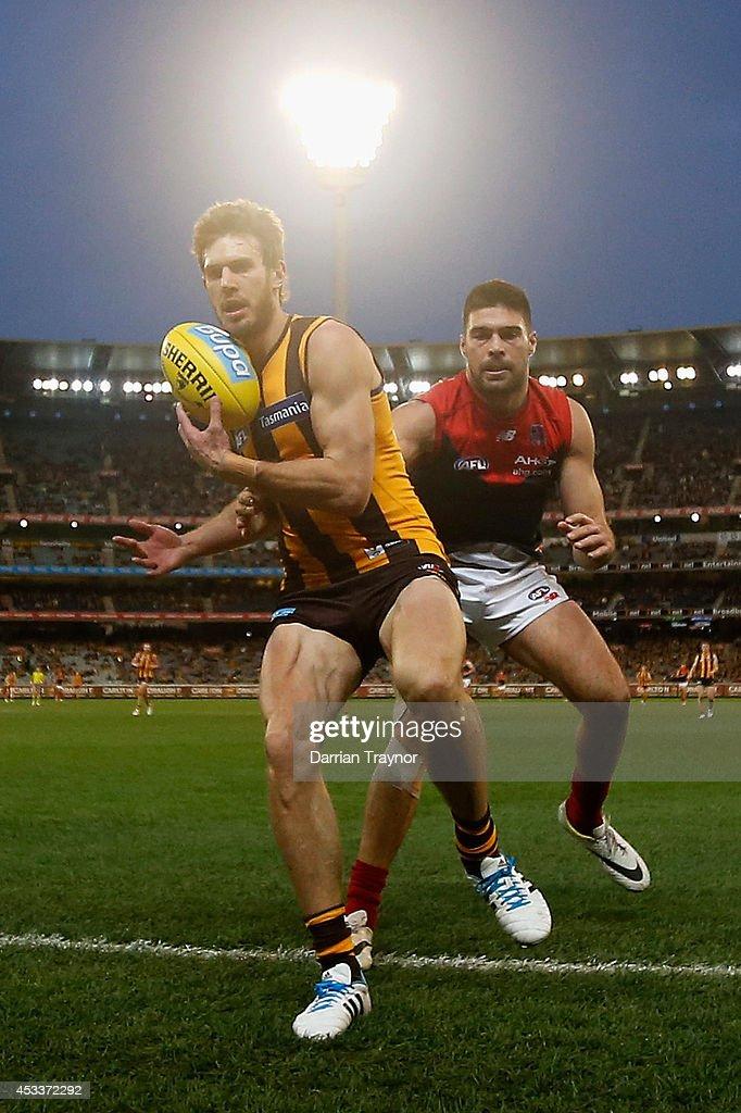AFL Rd 20 - Hawthorn v Melbourne : Nachrichtenfoto