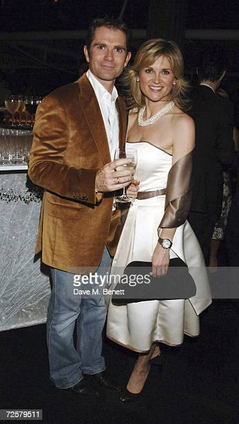 Grant Bowie and Anthea Turner attend the after party following the press night of 'The Sound Of Music' at Billingsgate Market on November 15 2006 in...