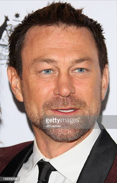 Grant Bowler attends the 2013 G'Day USA Black Tie Gala at JW Marriott Los Angeles at L.A. LIVE on January 12, 2013 in Los Angeles, California.