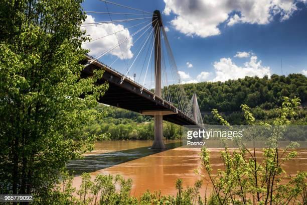 u.s. grant bridge - オハイオ川 ストックフォトと画像
