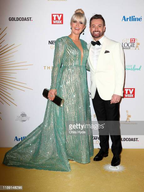 Grant Denyer and Cheryl Denyer arrivesat the 61st Annual TV WEEK Logie Awards at The Star Gold Coast on June 30 2019 on the Gold Coast Australia