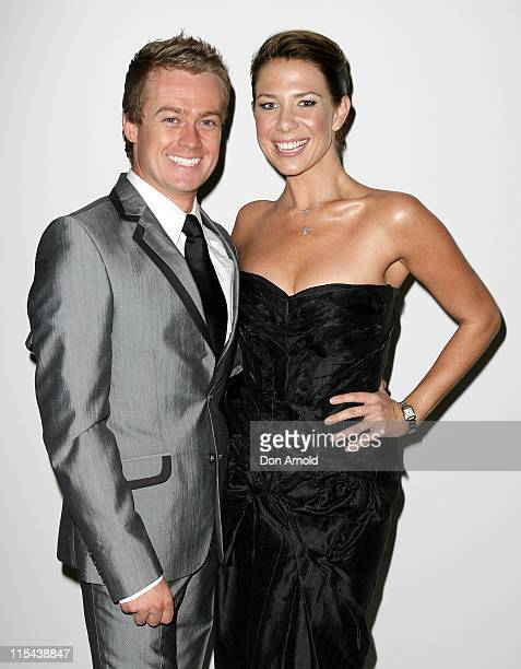 Grant Denyer and Kate Richie attend 'A Night With The Stars' in support of the Westmead Hospital at the Sydney Convention and Exhibition Centre on...
