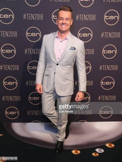 Grant Denyer poses during the Network Ten 2018 Upfronts on November 9 2017 in Sydney Australia