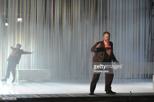 Grant Doyle as Enric in David Sawer's The Skating Rink directed by Stewart Laing and conducted by Garry Walker at Garsington Opera at Wormsley on...