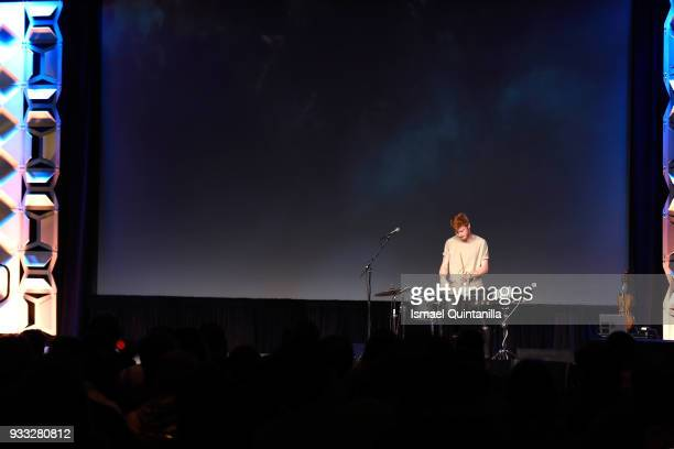 Grant Eadie performs onstage at SXSW Gaming Awards during SXSW at Hilton Austin Downtown on March 17 2018 in Austin Texas