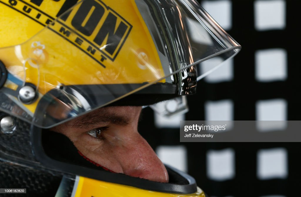 Grant Enfinger, driver of the Champion Power Equipment/Curb