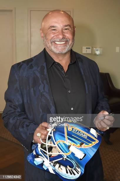 Grant Fuhr attends the Premiere Of Making Coco The Grant Fuhr Story at Desert Dunes Golf Club on March 9 2019 in Desert Hot Springs California