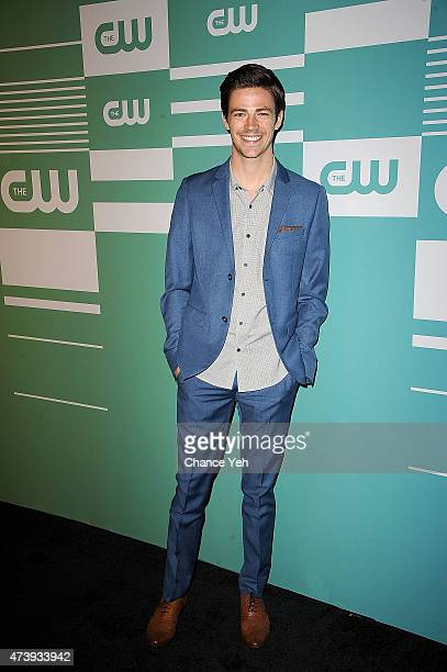 Grant Gustin attends The CW Network's New York 2015 Upfront Presentation at The London Hotel on May 14 2015 in New York City
