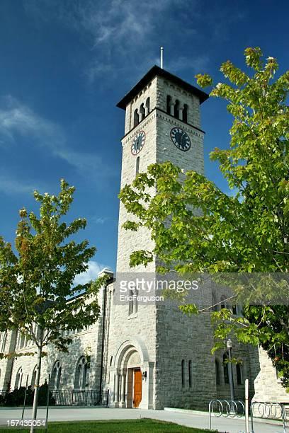 grant hall, queen's university kingston - ivy ferguson stockfoto's en -beelden