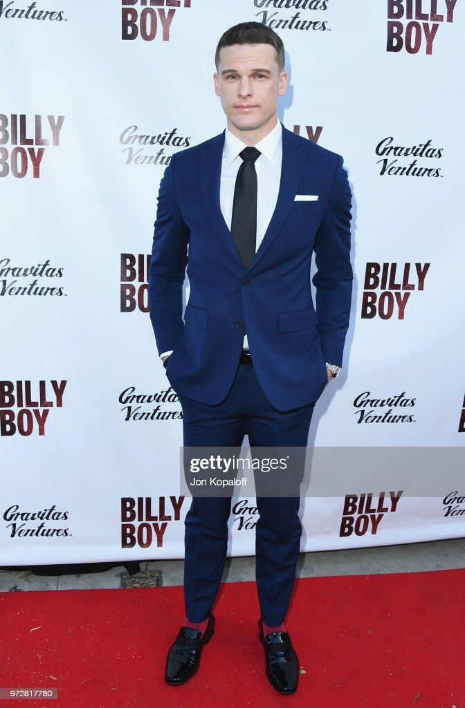 Grant Harvey attends 'Billy Boy' Los Angeles Premiere at Laemmle Music Hall on June 12, 2018 in Beverly Hills, California.