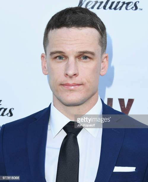Grant Harvey attends 'Billy Boy' Los Angeles Premiere at Laemmle Music Hall on June 12 2018 in Beverly Hills California