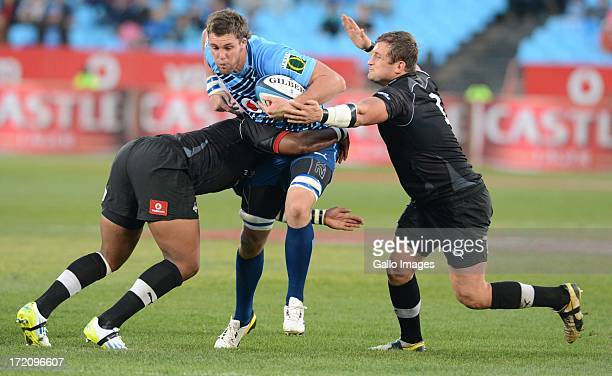 Grant Hattingh of the Bulls during the Super Rugby match between Vodacom Bulls and Southern Kings from Loftus Versfeld on June 29 2013 in Pretoria...