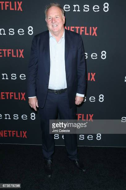 Grant HIll attend the Season 2 Premiere of Netflix's Sense8 at AMC Lincoln Square Theater on April 26 2017 in New York City