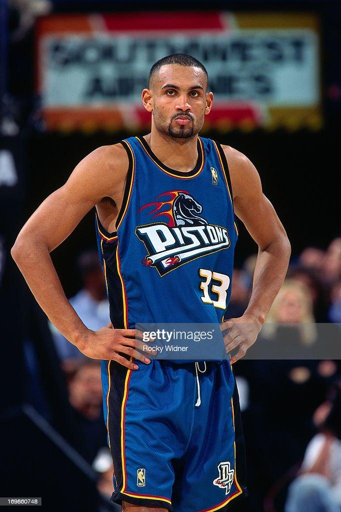 Detroit Pistons v Sacramento Kings : News Photo