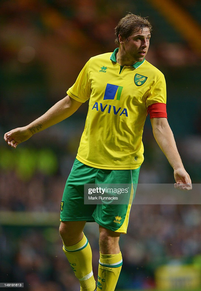 Grant Holt of Norwich City during the pre-season friendly match between Celtic and Norwich City, at ParkHead Stadium on July 24, 2012 in Glasgow, Scotland.