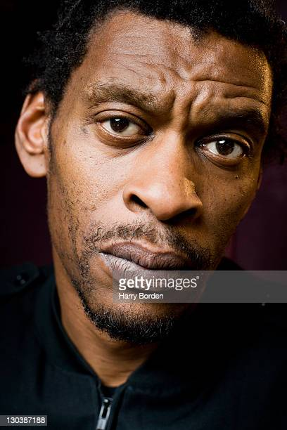 Grant Marshall aka Daddy G of electro band Massive Attack is photographed for the Observer on April 25 2008 in London England