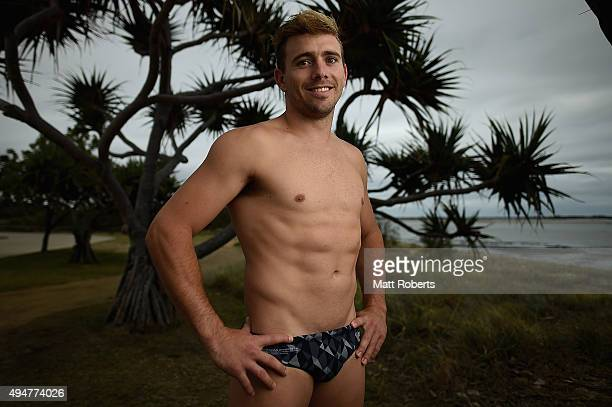 Grant Nel of Australia poses for a portrait during the FINA Diving Grand Prix on October 29, 2015 on the Gold Coast, Australia.