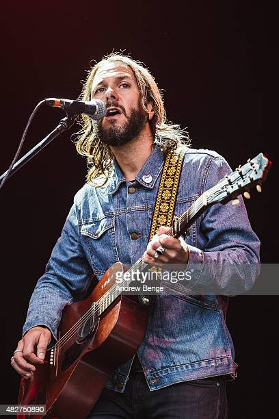Grant Nicholas performs on the Main Stage at Kendal Calling Festival on August 2, 2015 in Kendal, United Kingdom.