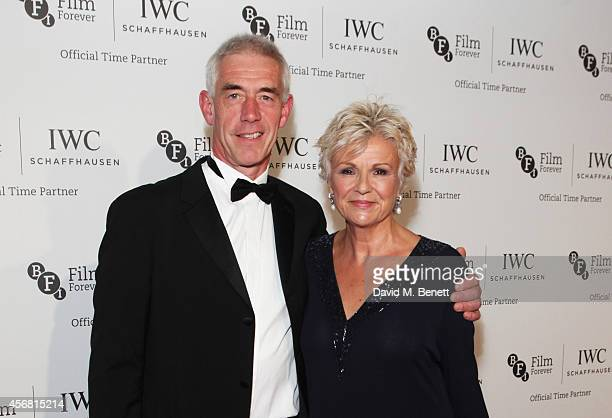 Grant Roffey and Julie Walters attend the BFI London Film Festival IWC Gala Dinner in honour of the BFI at Battersea Evolution Marquee on October 7...