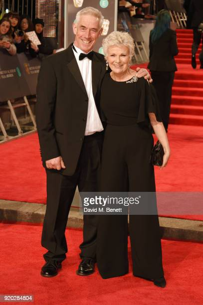 Grant Roffey and Julie Walters attend the EE British Academy Film Awards held at Royal Albert Hall on February 18 2018 in London England
