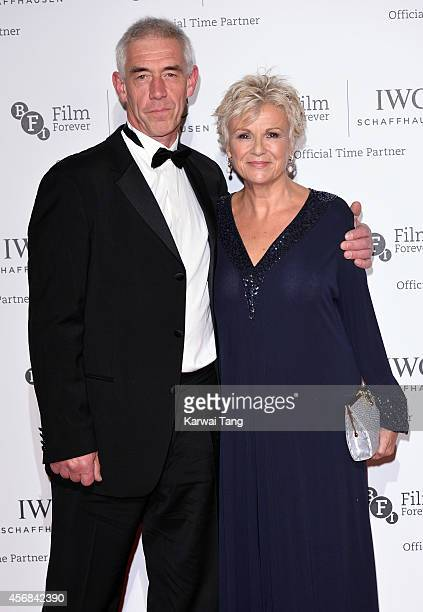 Grant Roffey and Julie Walters attend the IWC Gala dinner in honour of the BFI at Battersea Evolution on October 7 2014 in London England