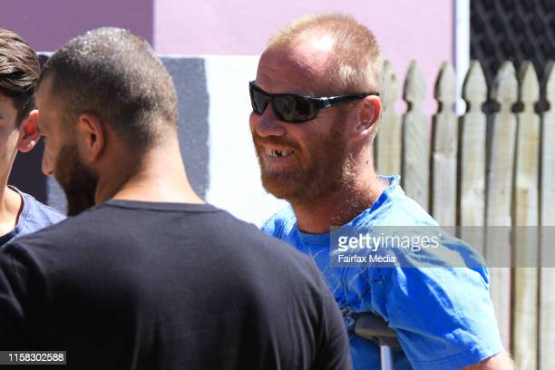 Grant Scholz at the Home Hill Backpackers south of Townsville where Smail Ayad allegedly killed British backpacker Mia AyliffeChung and tried to kill...
