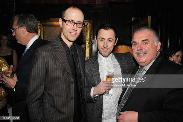 Grant Shaffer Alan Cumming and Ed Dimuro attend LIVING BEYOND BELIEF Benefit in Honor of KENNETH COLE at National Arts Club on February 9 2007 in New...