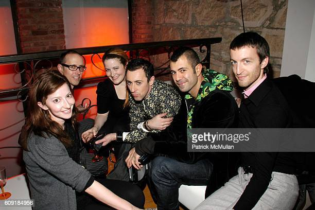 Grant Shaffer Alan Cumming Jeremy Kost and attend BREIL Hosts Spin 600 DJ Competition at Breil Showroom on February 8 2007 in New York City