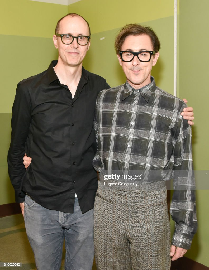 Grant Shaffer and Alan Cumming attend the Mamarazzi Launch Of Alan Cumming's New Book 'The Adventures Of Honey & Leon' at Appleseeds on September 13, 2017 in New York City.