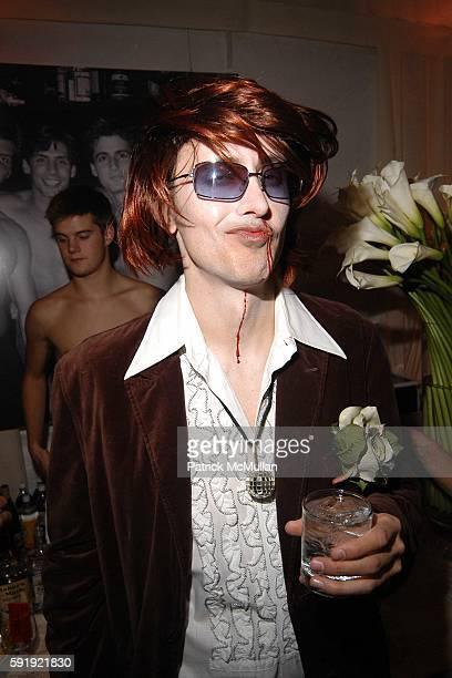 Grant Shaffer attends Allison Sarofim's 2005 Halloween Party at West Village on October 29 2005 in New York City
