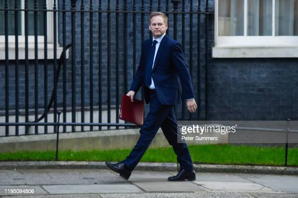 Grant Shapps Secretary of State for Transport arrives at Downing Street on January 21 2020 in London England In just over one week's time the UK will...