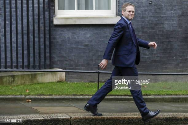 Grant Shapps UK transport secretary departs following a meeting of cabinet minsters at number 10 Downing Street in London UK on Tuesday Dec 17 2019...