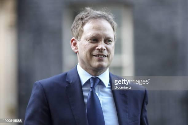 Grant Shapps UK transport secretary departs from number 10 Downing Street in London UK on Thursday Feb 13 2020 Boris Johnsonfired a clutch of senior...