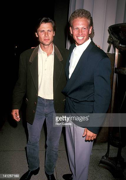 Grant Show and Ian Ziering at the Fox Fall Series Party Museum of Natural History New York City