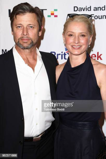 Grant Show and Katherine LaNasa attend the BritWeek And The Wallis Present A Shakespeare Jubilee at Wallis Annenberg Center for the Performing Arts...